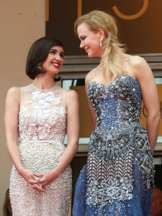 The 2014 Cannes Film Festival has France seeing stars. Audrey Tautou, Laetitia Casta, Harrison Ford, Nicole Kidman, Blake Lively, Grace Kelly, Gossip Girl, Strapless Dress Formal, Prom Dresses