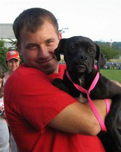 Ryan Newman...his puppy is pretty cute too!
