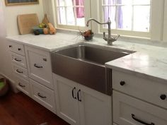 Apron Sink-Shaw or Kohler Whitehaven - Kitchens Forum - GardenWeb