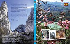 """Front and back cover of the book """"photo album Montañas de Costa Blanca""""."""
