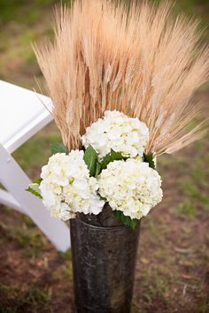 DIY Bride » Crafting Beautiful Weddings, One Project At A Time » Kelly + Jacob's Fall Farm Wedding