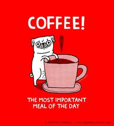 COFFEE! The most important meal of the day