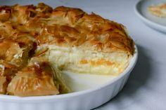 Galaktoboureko griechischer Puddingkuchen