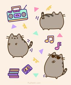 What's next for Pusheen? 6 career paths for pusheen. Gato Pusheen, Pusheen Love, Crazy Cat Lady, Crazy Cats, Nyan Cat, Gif Animé, Fat Cats, I Love Cats, Cute Cartoon