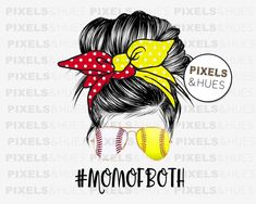 Softball Mom, Baseball Mom, Baseball Shirts, Diy Clothing, Silhouette Projects, Mom Humor, Hobbies And Crafts, Bun Hairstyles, Cricut Design
