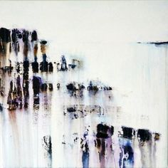 ARTFINDER: Pretty perfect by Gina Parr - From the River meets sea series, exploring the fine line between pure abstraction and figurative recognition, between chance and control.