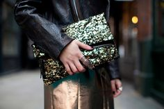 topshop: totally enchanted by this festive clutch that shimmers and shines.