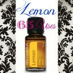 65 Uses for Lemon Essential Oil {DoTerra}