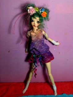 "This is a beautiful BJD (ball jointed doll). They are works of art but I'm somewhat ambivalent because they are all so ""the same."" And yet I love."