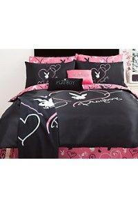 "Playboy ""Playbunny Sweet Heart"" bed set"