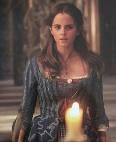 Emma Watson as Belle in Disney's Beauty and the Beast