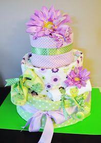 Taste{Full}: Another Pretty Diaper Cake.