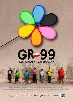 #FILM #DOCUMENTAL #CROWDFUNDING - Cartel de Gr99: Los colores del camino by Bideografik Ekoizpenak. Una historia de personas, de relaciones sociales, solidaridad, amor, amistad, integración... Un documental real que narra las experiencias de siete personas con discapacidad intelectual que buscan superarse a sí mismos a través de un reto: Culminar con éxito la Gr: 99.  +INFO: www.bideografik.com CAMPAÑA CROWDFUNDING verkami www.verkami.com/projects/3929