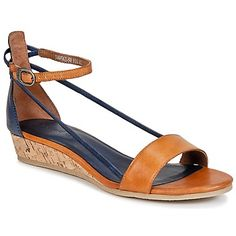 8cce2ffa93d NEW ARRIVALS  Awesome strappy leather sandals with a low wedge and ankle  stap by Kickers