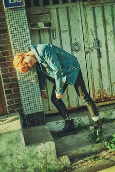 BTS The Most Beautiful Moment in Life Pt.2 Concept Photos 'Je Ne Regrette Rien' I Jimin ~ I love his new orange hair <3