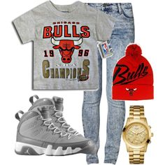 bulls., created by xendiax on Polyvore