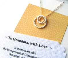 Hey, I found this really awesome Etsy listing at https://www.etsy.com/listing/116690287/grandma-necklace-poem-card-included
