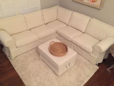 Image result for EKTORP Sectional, 4-seat corner, Nordvalla dark gray Ektorp Sectional, Ikea Couch, Corner, Gray, Image, Furniture, Home Decor, Decoration Home, Ikea Sofa