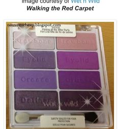 Spring 2014 wet N wild limited edition palettes