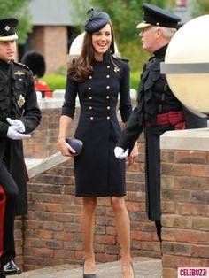 Kate Middleton - love her coat!