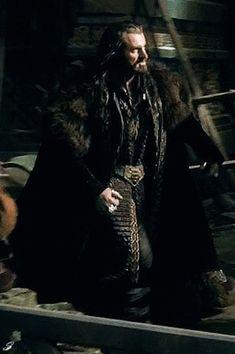 Richard as Thorin Oakenshield in The Hobbit series last film. Clue: he's not happy...