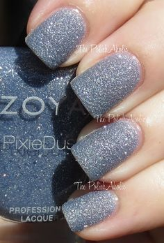 Nyx by Zoya - The PolishAholic: Zoya PixieDust Collection Swatches!