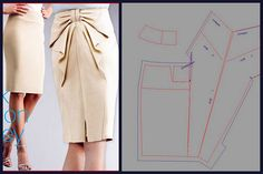 Inspiration for me to use when I'm exploring flat pattern drafting. - Models skirts and patterns of patterns for them.