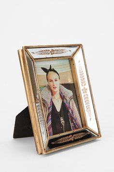 Antiqued Mirror Frame  #UrbanOutfitters