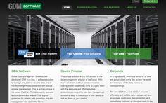 GDM Software website design by Web Success Agency.