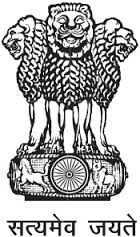 NATIONAL EMBLEM OF INDIA- (1) It is an adaptation form the Sarnath Lion Capital of Ashoka.  (2) In the original there are 4 Lions standing back to back mounted on an abacus.  (3) The 4 animals at the bottom of the national emblem are a horse and a bull (visible) and a lion and a elephant (not visible) separated by intervening wheels over a bell-shaped lotus. (4). The National Emblem was adopted by the Government of India on 26.01.1950. 5. Words SATYAMEVA JAYATE was taken from Mundaka…