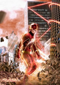 The flash deserves some new swag The flash Suit upgrade Flash Comics, Dc Comics Heroes, Dc Comics Art, The Flash Poster, O Flash, Flash Art, Flash Characters, Flash Wallpaper, Flash Barry Allen
