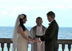 Time to say 'I Do'! --Destination Wedding at the Reach Resort in Key West with The Best Wedding DJ Ever! www.TheBestWeddingDJever.com