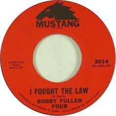 I Fought The Law - Bobby Fuller Four (1966)
