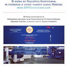 SR Power Dominicana SAS. Visita nuestro nuevo website http://ift.tt/25PMFLx Venta instalacion servicio repuestos originales y accesorios #fgwilson #mitsubishi #plantaselectricas #energia #electricidad #luz #socialmedia #website #republicadominicana #dominicanrepublic #dominicana