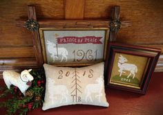 PRINCE of PEACE ~ Cross Stitch Sampler Pattern/Chart  from Scattered Seed Samplers© 2014 by Designer Tammy Black