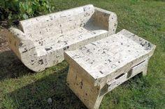 Avec de l'imagination et beaucoup de carton, il est possible de réaliser toutes sortes de meubles. En témoignent ces réalisations de lecteurs.