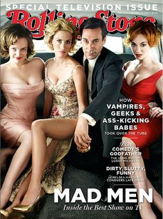 MadMen - great show.  gorgeous people.  creative designs.  lots of drama.