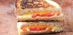 The best of braai recipes from braai side dishes, braai salads, marinades and wines. Ultimate Grilled Cheese, Perfect Grilled Cheese, Grilled Cheese Recipes, Grilled Cheeses, Braai Recipes, Easy Sandwich Recipes, Vegetarian Recipes Easy, Vegetarian Meal, Burger Recipes