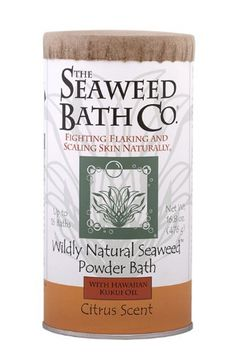 Wildly Natural Seaweed Powder Bath with Hawaiian Kukui Oil - Citrus Scent (8-16 Baths) by The Seaweed Bath Co.. $25.00. Created by a psoriasis sufferer.. Experience the soothing power of wild seaweed.. Improve the condition of red skin, dry skin, flaking skin, and scaling skin.. 100% Natural. Dye Free. Paraben Free. SLS Free.. Naturally nourish irritated skin and stimulate your senses in a luxurious bath.. Our Wildly Natural Seaweed Powder Bath is designed to soothe y...