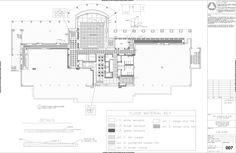Construction Documents- UTSA Durango Building Level 1 on Behance-Finish plan Construction Documents, Construction Drawings, Floor Plans, Behance, How To Plan, Building, Architecture, Building Plans, Buildings