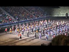 Edinburgh Military Tattoo Massed Pipes and Drums - Scotland the Brave.....there is no other sound like this.....I could listen to it all day long.