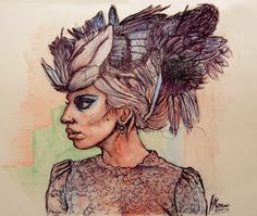 Featherhead Gaga!
