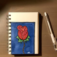 I have draw a rose using my new touchfive markers. I'm actually really impressed with the result Use Me, Markers, Notebook, Draw, Rose, Sharpies, Marker, Roses, Drawings