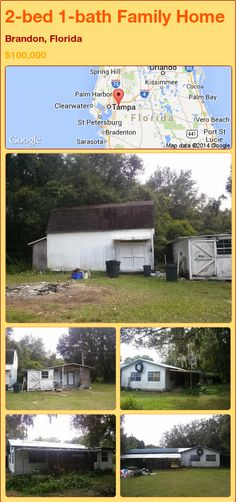 2-bed 1-bath Family Home in Brandon, Florida ►$100,000 #PropertyForSale #RealEstate #Florida http://florida-magic.com/properties/74561-family-home-for-sale-in-brandon-florida-with-2-bedroom-1-bathroom