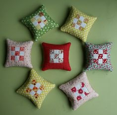 Love these pin cushions