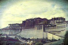 Lhasa, Tibet. The Potala Palace.
