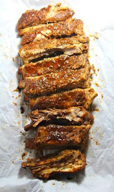 Crockpot Smoky BBQ Pork Ribs Bbq Pork Ribs, Low Carb Recipes, Crockpot Recipes, Healthy Eating, Forks, Flip Flops, Meal Ideas, Dinner Ideas, Crock Pot