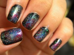 Awesome nail design.