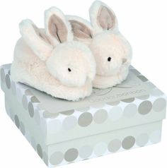 Dou Dou et Compagnie Bunny Booties Tan One Size *** Visit the image link more details. Note:It is affiliate link to Amazon.