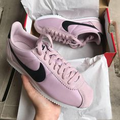 on sale 959b5 7ee40 LIMITED EDITION NEW ARRIVALS Nike Cortez Classic Blush Pink Black Logo  CODE  LIMITED EDITION ‼